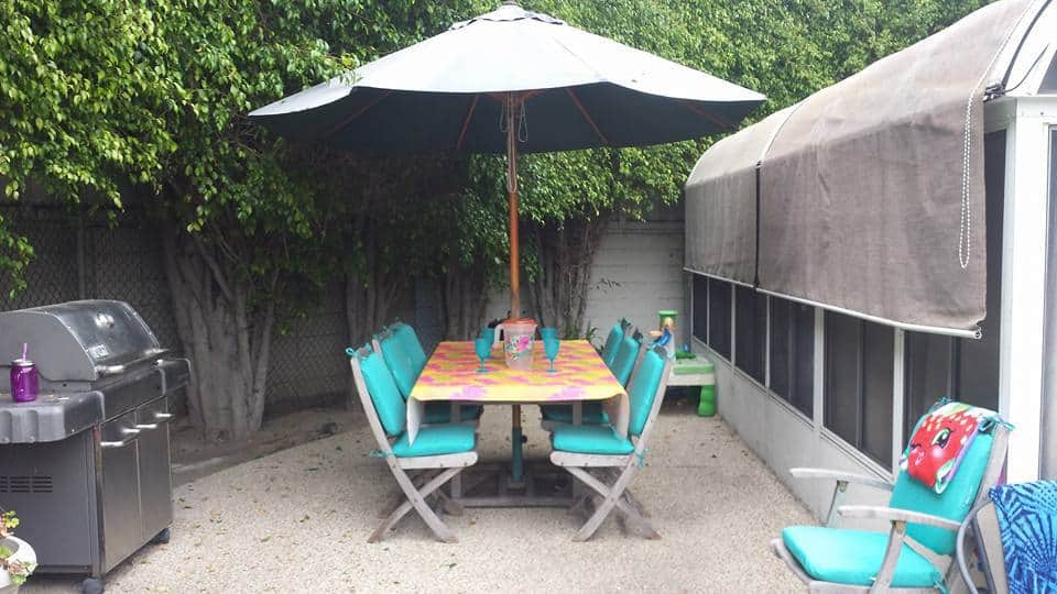Decorate your Patio for Under $150 in Irvine Ca.
