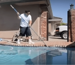 orange pool cleaning service