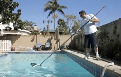 diy pool clean