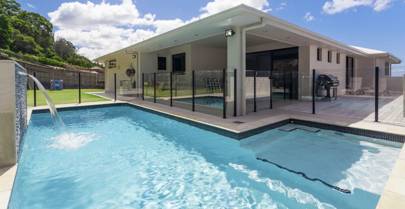 Pool water recycling saves water calif pool heaven inc - Salt water swimming pools los angeles ...