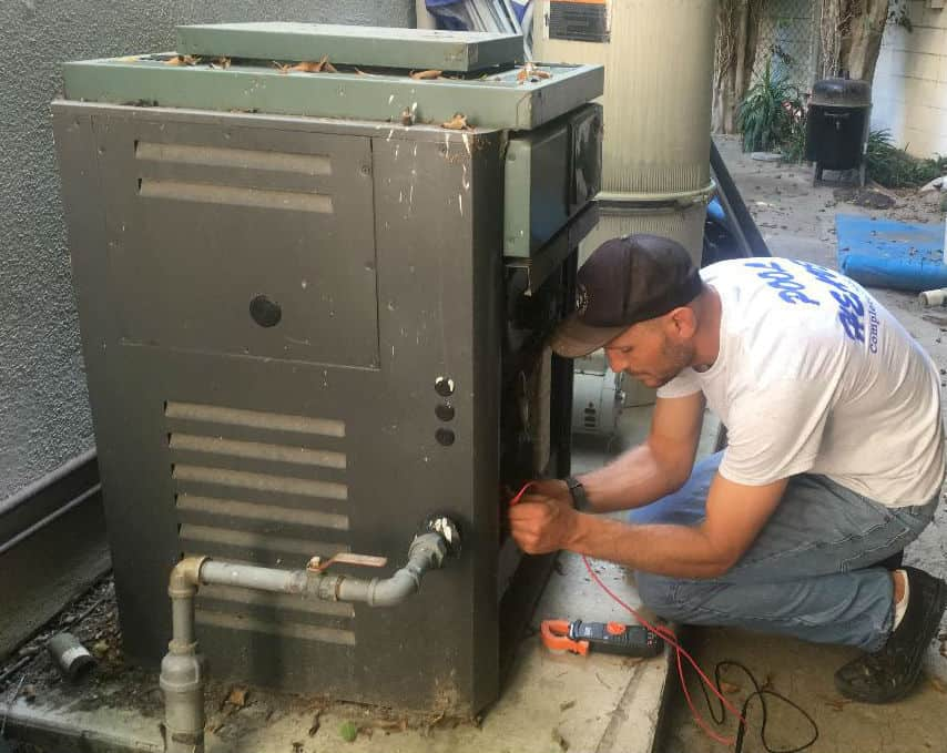 Swimming Pool Heater Job From Hell In Fountain Valley